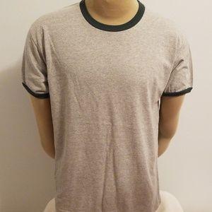 Men's Champion Gray Tee Shirt Size L